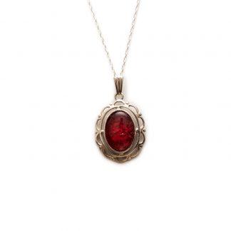 ornate ashes pendant