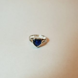 small ashes heart ring