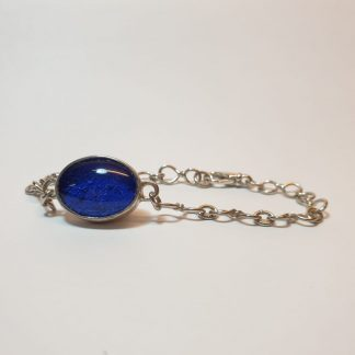 Oval ashes bracelet