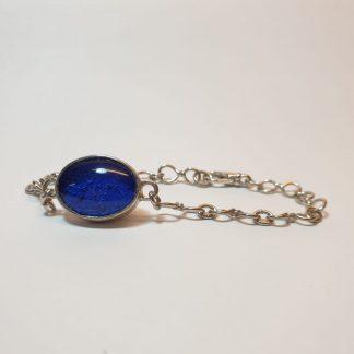 Oval ashes bracelet