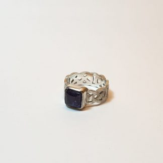 square celtic ashes ring
