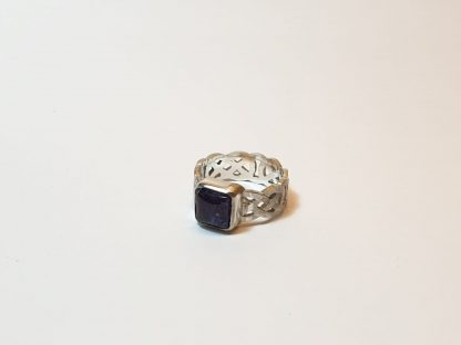 square celtic ashes ring