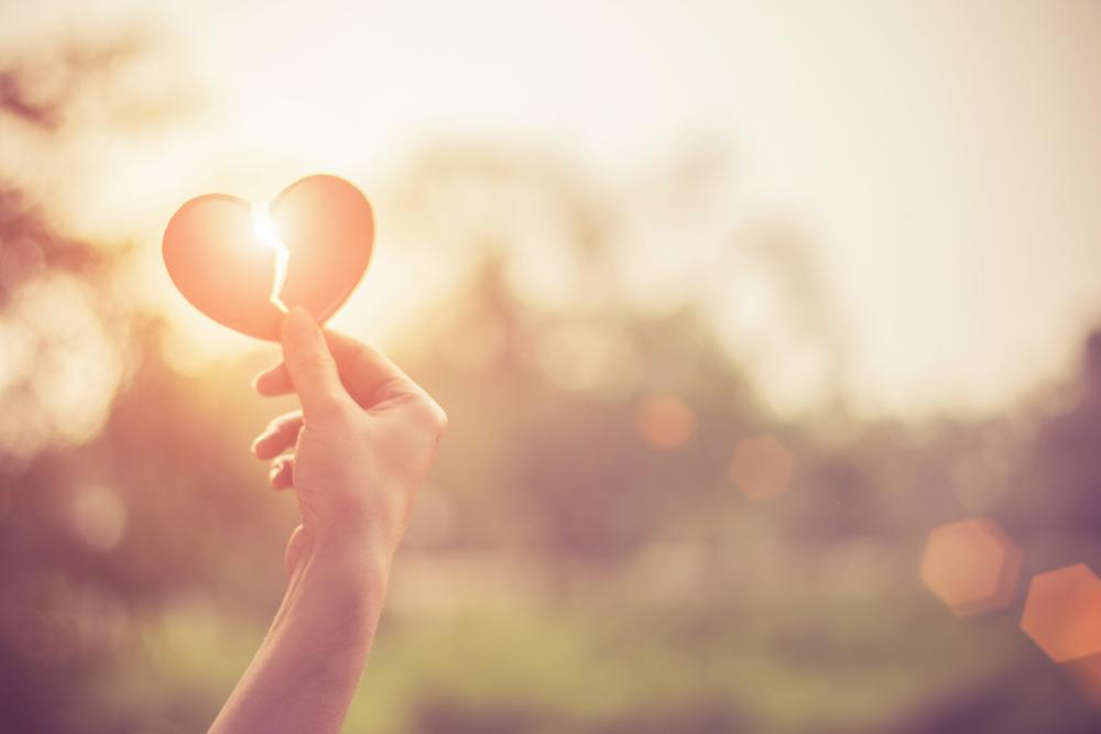 broken heart grieving