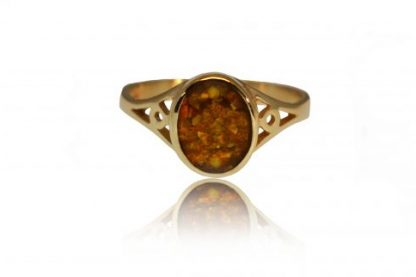 Classic ashes ring in gold